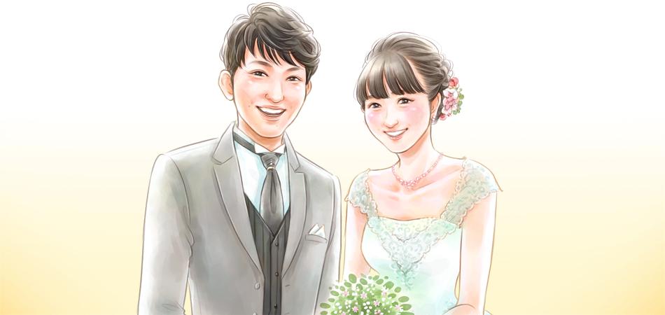 「私にとってこの結婚は、恋愛結婚と同じだと思っています。」