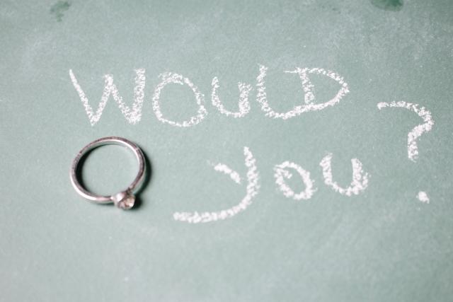 サプライズなプロポーズ