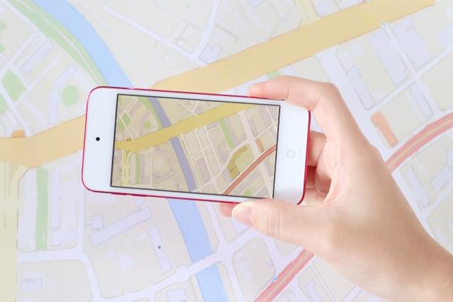 1 地図アプリ