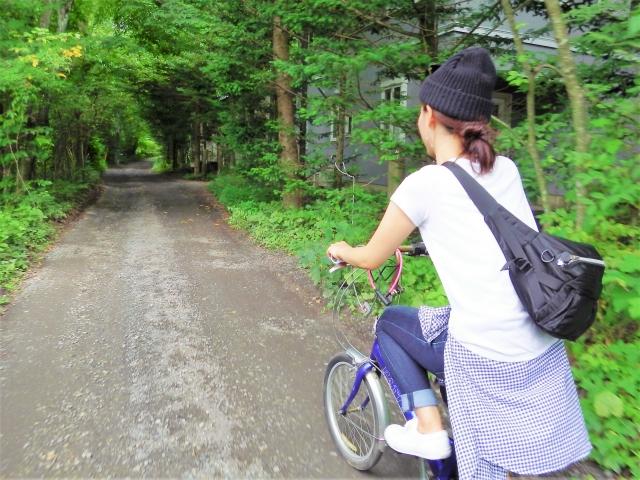 4 アクティブなカップルは、軽井沢サイクリングがおすすめ