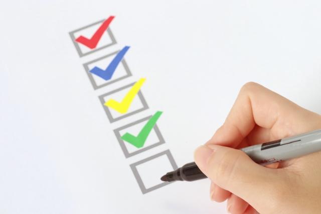 出費の項目ごとの担当やルールを明確にする