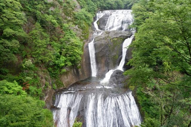 【茨城県】袋田の滝